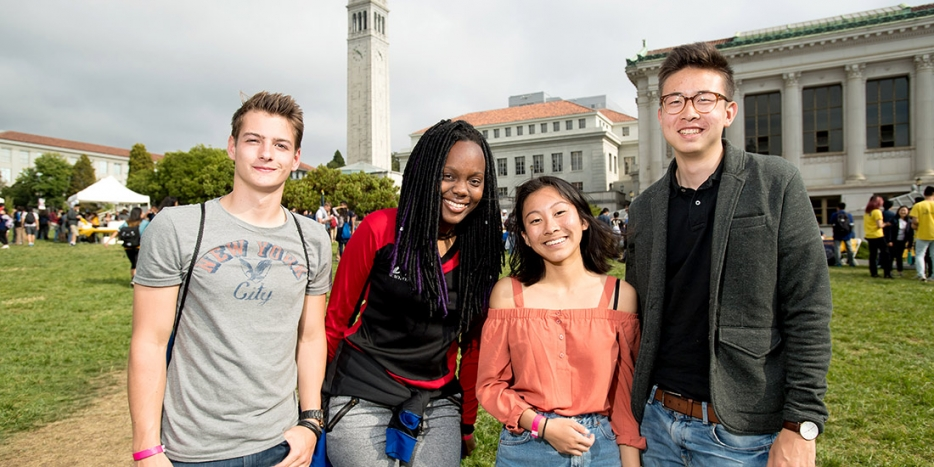 New students from all backgrounds come together to succeed at Berkeley Engineering (Credit: Noah Berger)