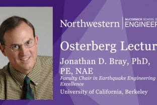 Flyer of Osterberg Lecture with Prof. Jon Bray