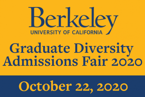 All are welcome to attend the Graduate Diversity Admissions Fair 2020!